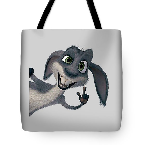 Saying Hi T-shirt  Tote Bag