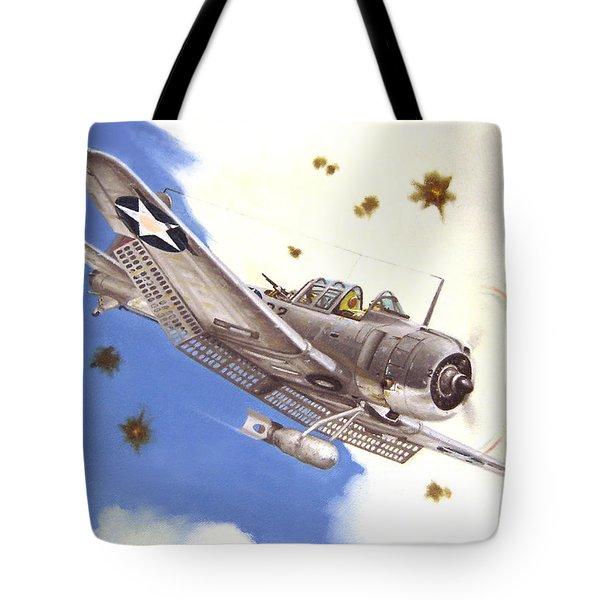 Sbd-3 Dauntless Tote Bag