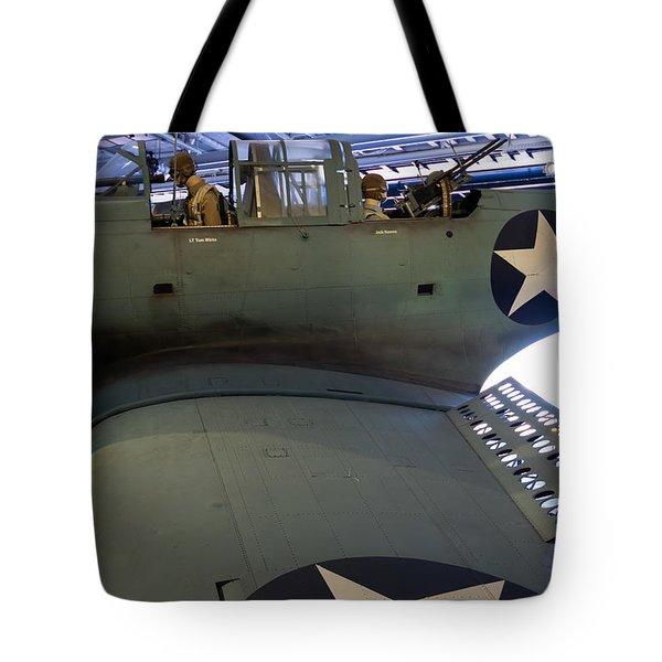 Sbd Dauntless Dive Bomber Tote Bag