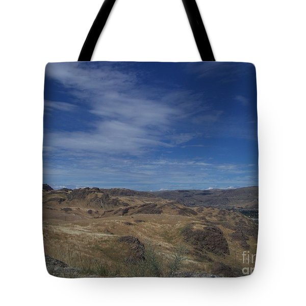 Scablands At Grand Coulee Tote Bag