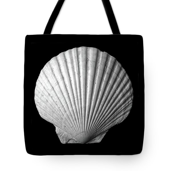 Scallop  Seashell Tote Bag by Jim Hughes