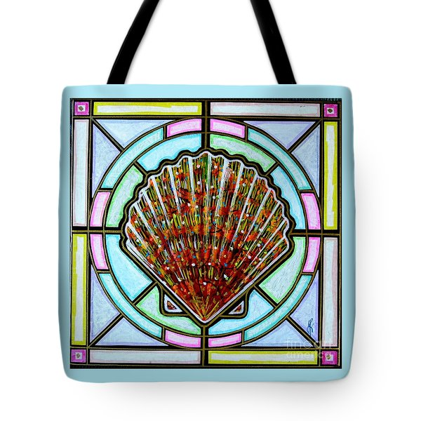 Scallop Shell 1 Tote Bag by Jim Harris