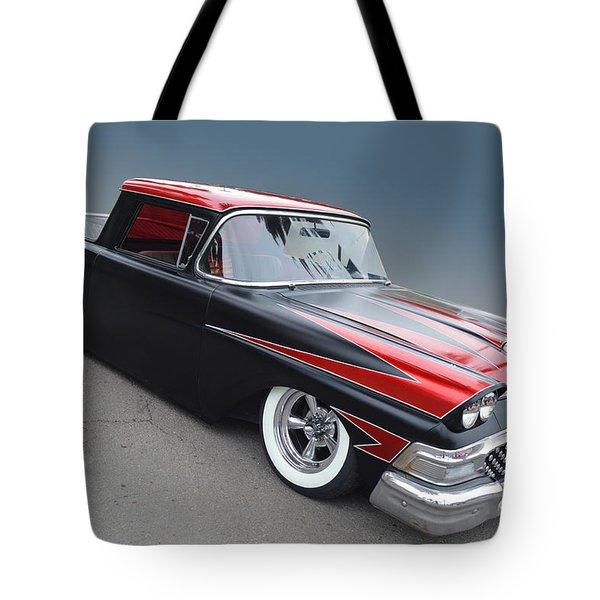Scalloped Ranchero Tote Bag
