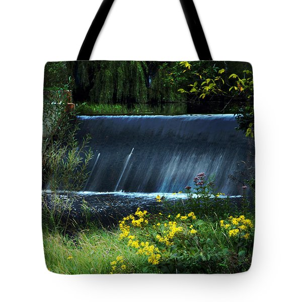 Tote Bag featuring the photograph Scandinavia  Dam by Judy  Johnson