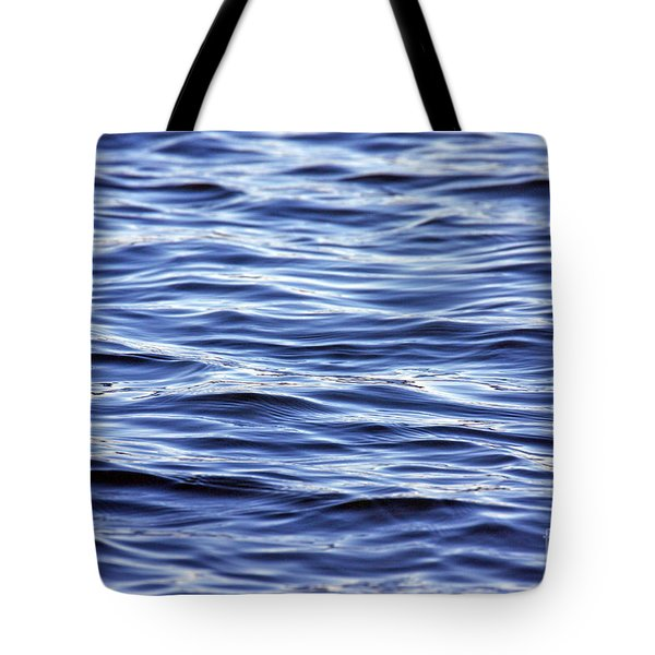 Scanning For Dolphins Tote Bag