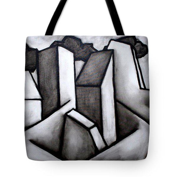 Scape Tote Bag by Thomas Valentine