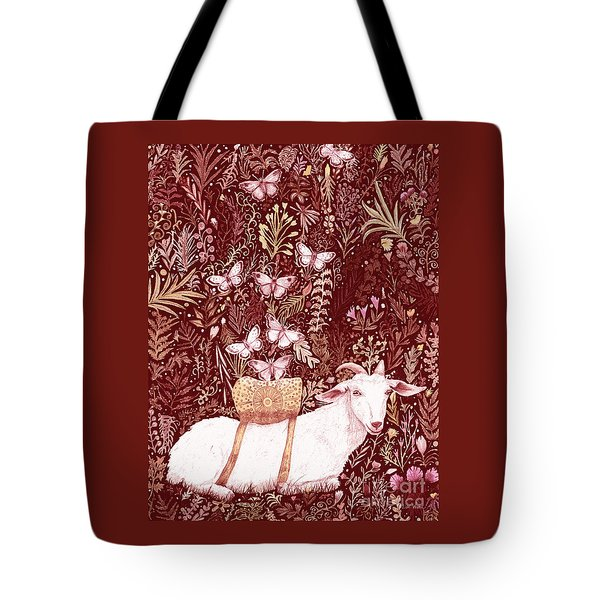 Scapegoat Healing Tapestry Print Tote Bag