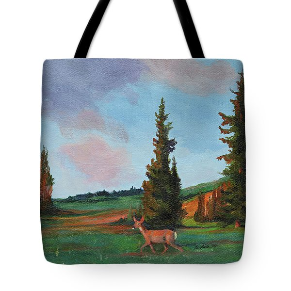 Scapegoat Summer Sunset Tote Bag