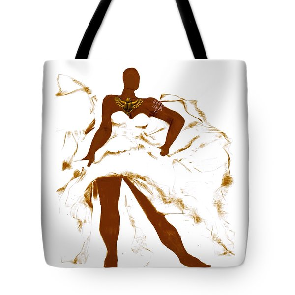 Scarab Goddess Flow Tote Bag