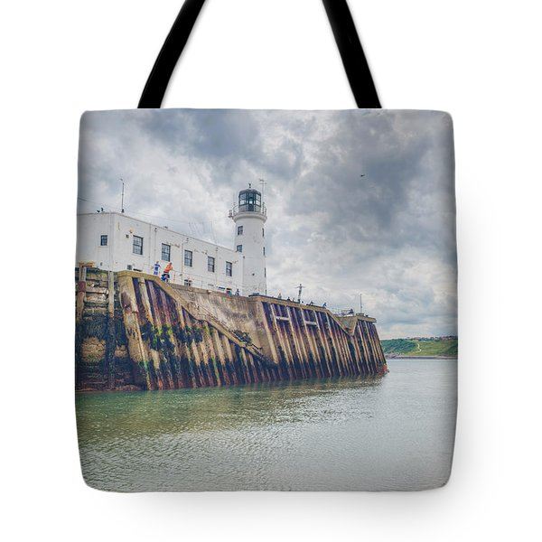Scarborough Harbour Tote Bag