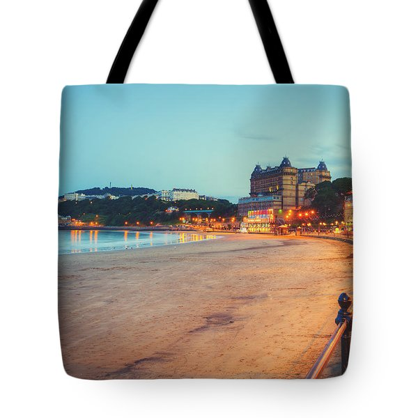 Tote Bag featuring the photograph Scarborough Seaside by Ray Devlin