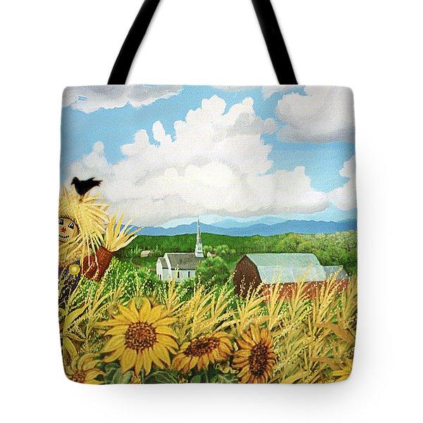 Scarecrow Farm Tote Bag