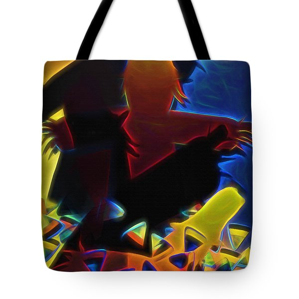 Scarecrows In The Cornfield Tote Bag
