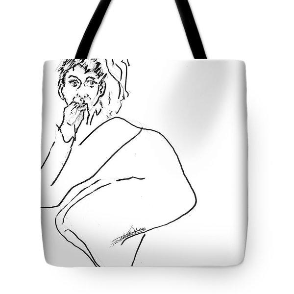 Scaredy Cat Tote Bag