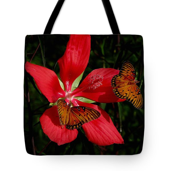 Scarlet Beauty Tote Bag