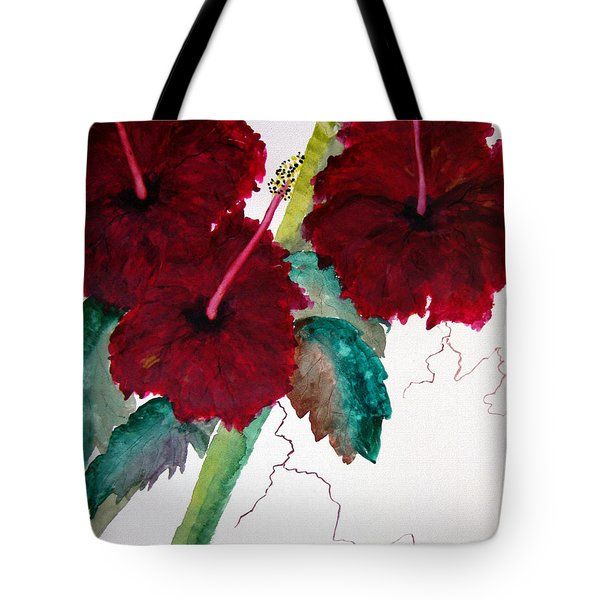 Scarlet Red Tote Bag