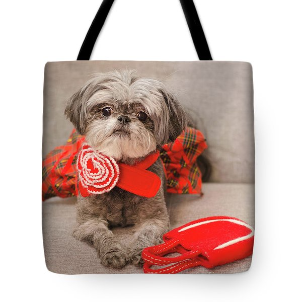 Scarlett And Red Purse Tote Bag