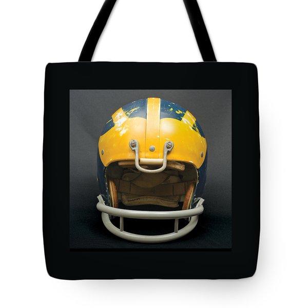Scarred 1970s Wolverine Helmet Tote Bag