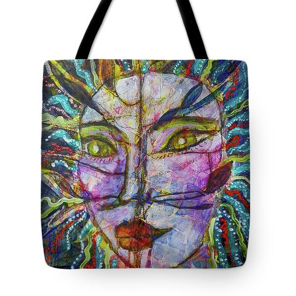 Scarred Beauty Tote Bag
