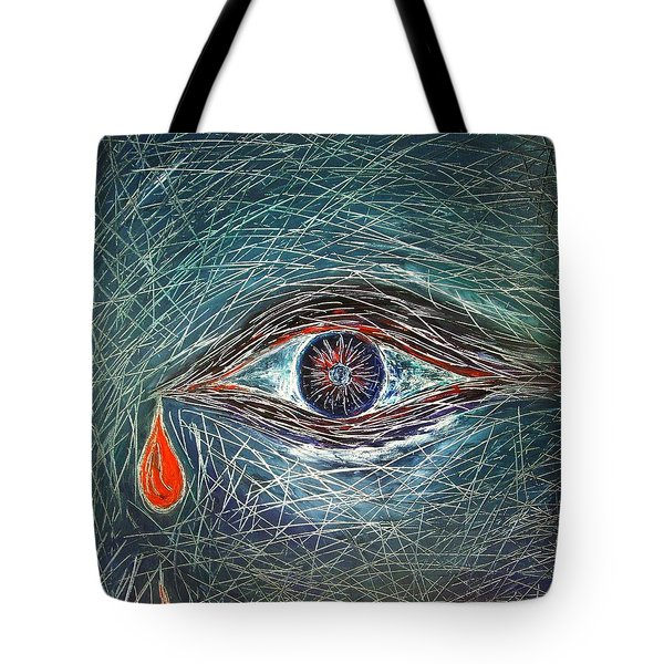 Scars In My Soul Tote Bag by Marianna Mills