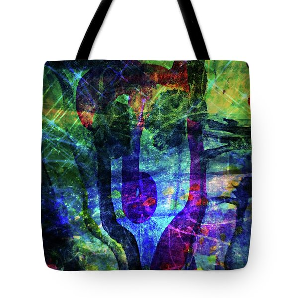 Scary Face-2 Tote Bag