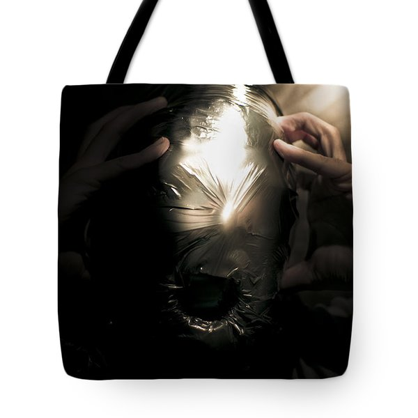 Scary Face Of Terror Tote Bag by Jorgo Photography - Wall Art Gallery