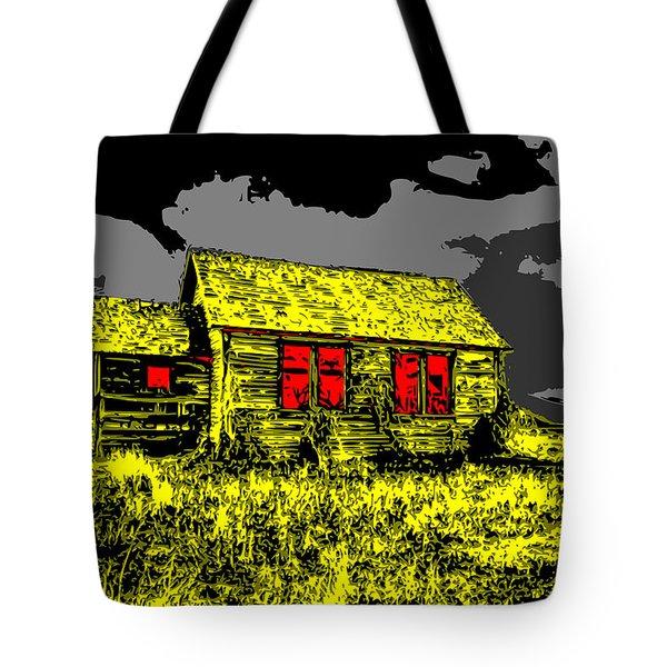 Scary Farmhouse Tote Bag