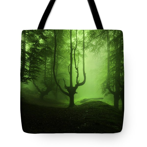 The Funeral Of Trees Tote Bag