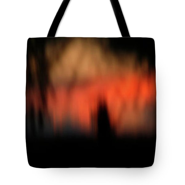 Tote Bag featuring the photograph Scary Nights by Marilyn Hunt