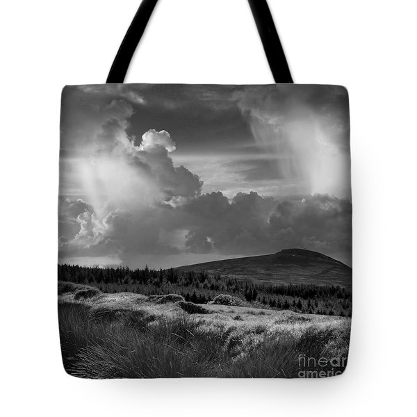 Scattering Clouds Over The Cronk Tote Bag