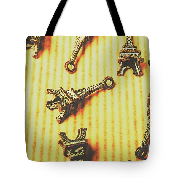 Scatterings From The City Of Romance Tote Bag by Jorgo Photography - Wall Art Gallery