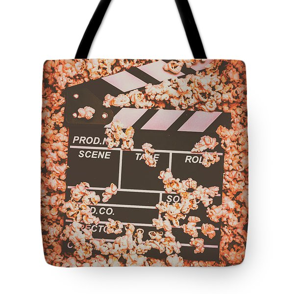 Scene From A Film Production Tote Bag
