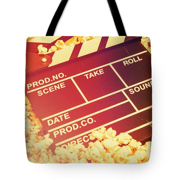 Scene From An American Movie Tote Bag