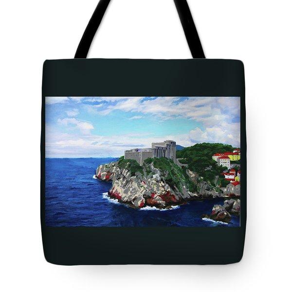 Scene From The Sea Tote Bag