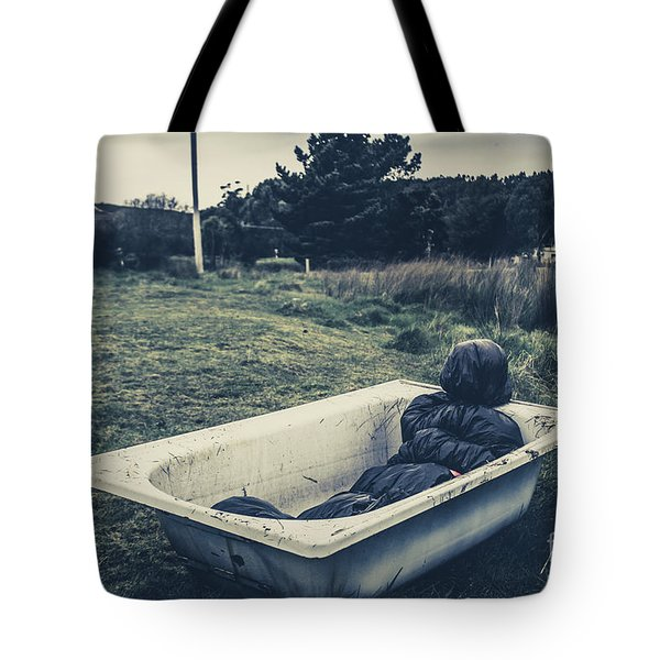 Scene Of A Serial Killing Tote Bag