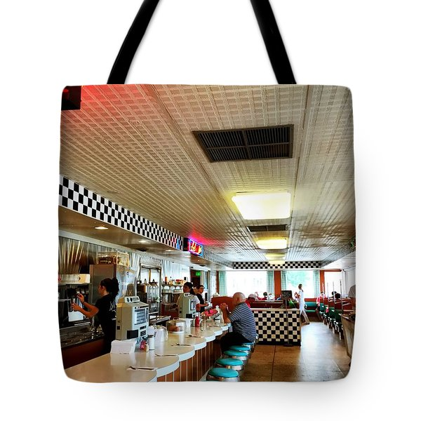Scenes From A Diner Tote Bag