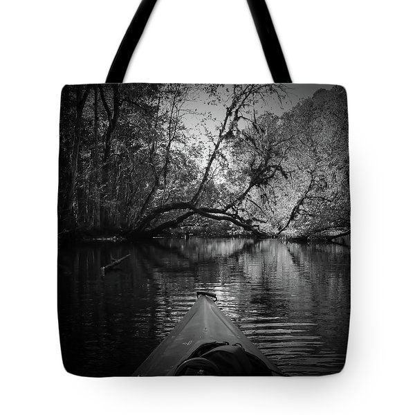 Scenes From A Kayak, No. 8 Tote Bag