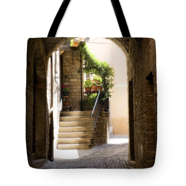 Scenic Archway Tote Bag by Marilyn Hunt