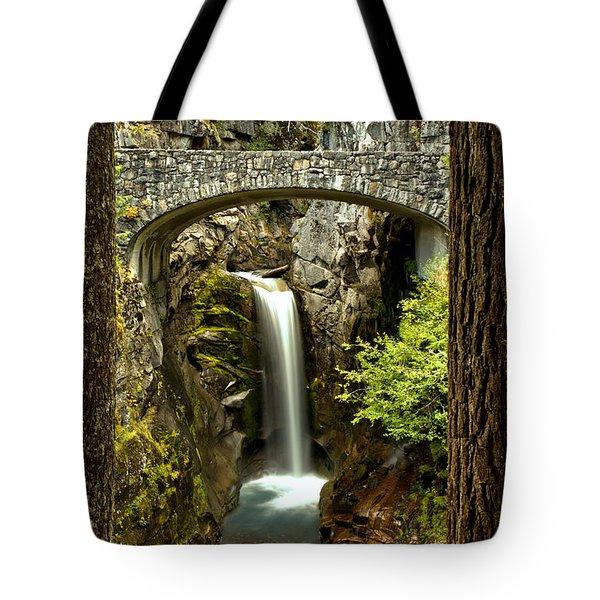 Scenic Christine Falls Tote Bag