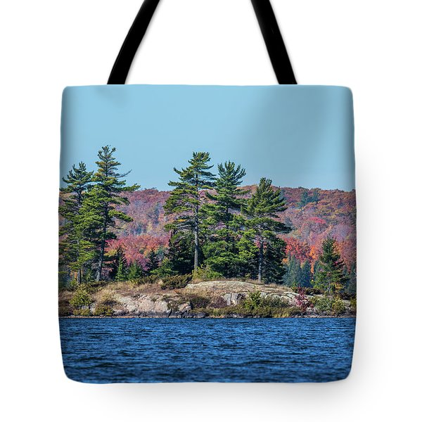 Tote Bag featuring the photograph Scenic Fall View by Paul Freidlund