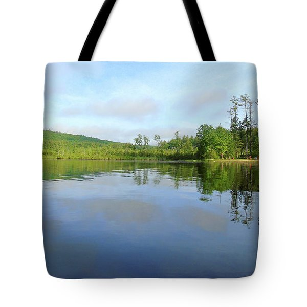 Scenic Gorham Pond #1 Tote Bag
