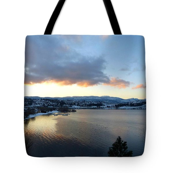 Tote Bag featuring the photograph Scenic Lake Country by Will Borden