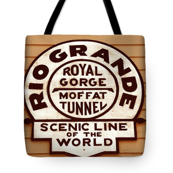 Scenic Line Of The World Tote Bag by David Lee Thompson