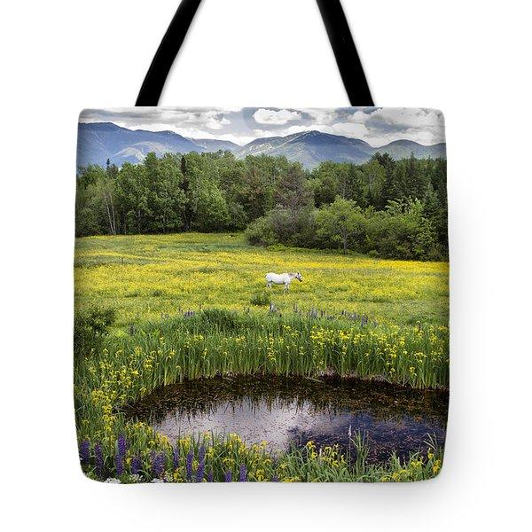 Scenic Pasture Tote Bag
