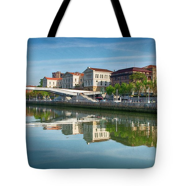 Scenic River View Tote Bag by James Hammond