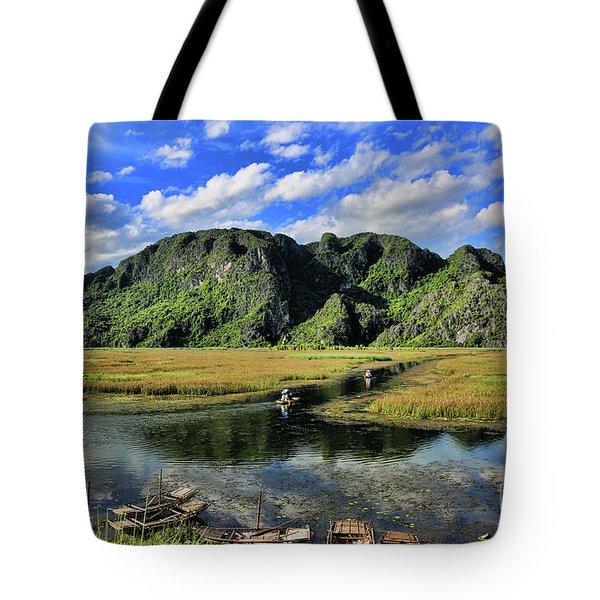 Scenic Route  Tote Bag