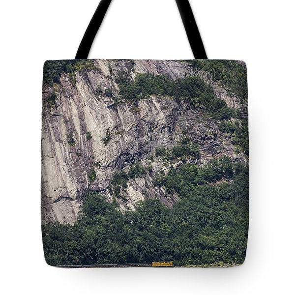 Scenic Train Tote Bag
