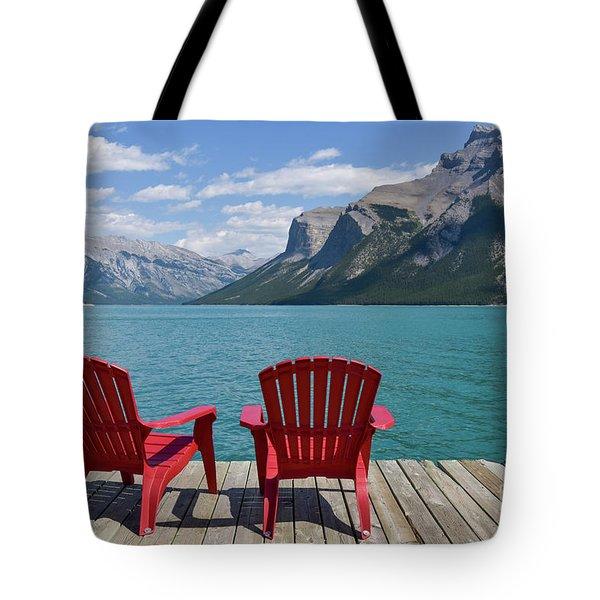 Scenic View Tote Bag