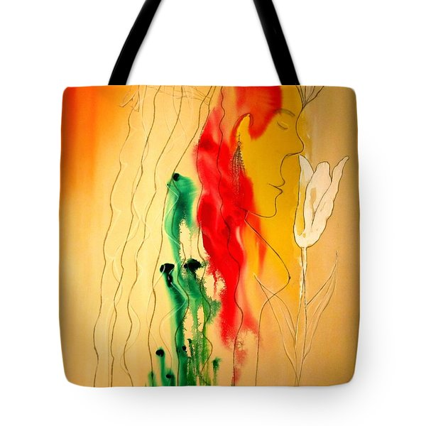 Scent Of An Orchid Tote Bag