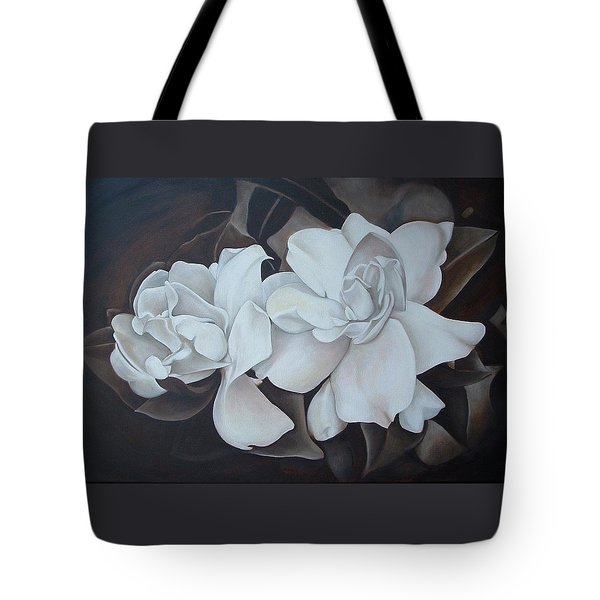 Scent Of Gardenias Tote Bag by Daniela Easter
